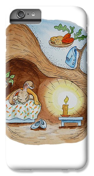 Peter Rabbit And His Dream IPhone 6s Plus Case by Irina Sztukowski