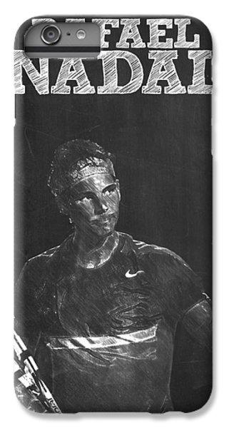Rafael Nadal IPhone 6s Plus Case by Semih Yurdabak