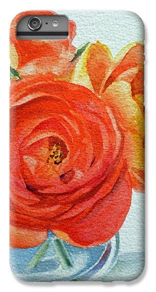 Ranunculus IPhone 6s Plus Case by Irina Sztukowski