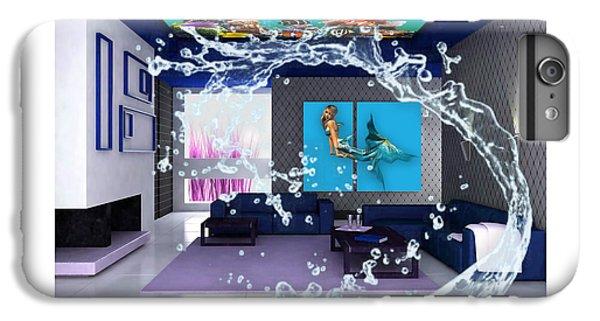 Rooftop Saltwater Fish Tank Art IPhone 6s Plus Case