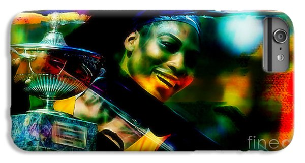 Serena Williams iPhone 6s Plus Case - Serena Williams by Marvin Blaine