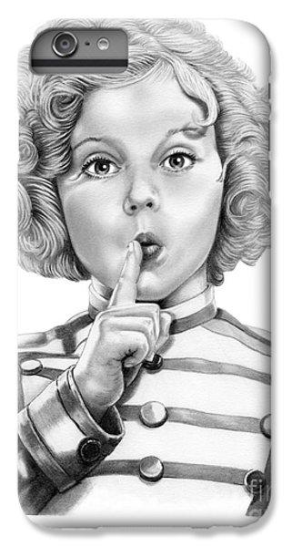 Shirley Temple IPhone 6s Plus Case by Murphy Elliott