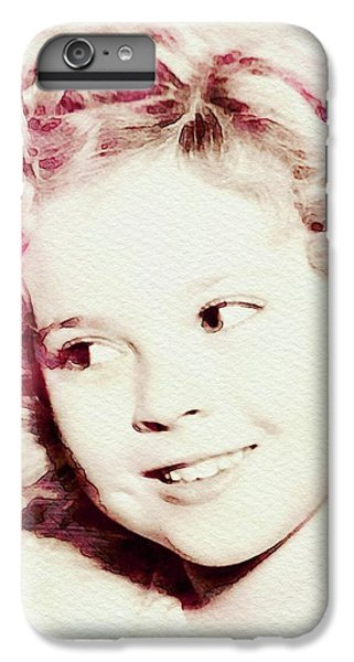 Shirley Temple, Vintage Actress IPhone 6s Plus Case
