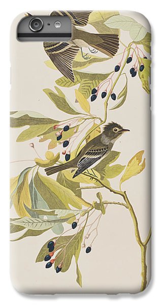 Flycatcher iPhone 6s Plus Case - Small Green Crested Flycatcher by John James Audubon