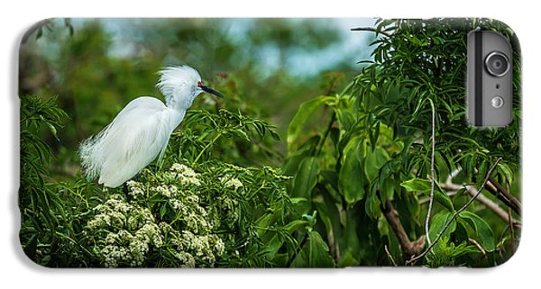 Egret iPhone 6s Plus Case - Snowy by Marvin Spates