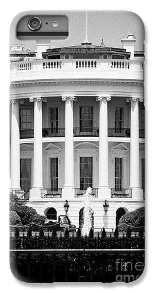 south facade of the white house Washington DC USA IPhone 6s Plus Case by Joe Fox