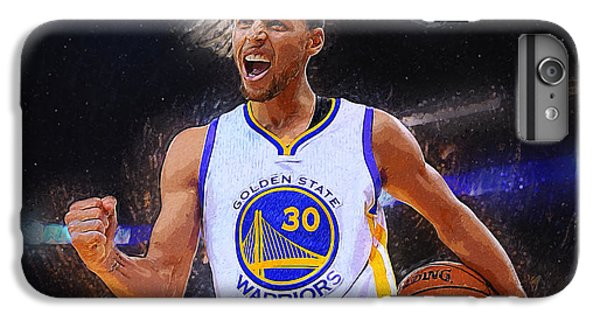 Stephen Curry IPhone 6s Plus Case by Semih Yurdabak