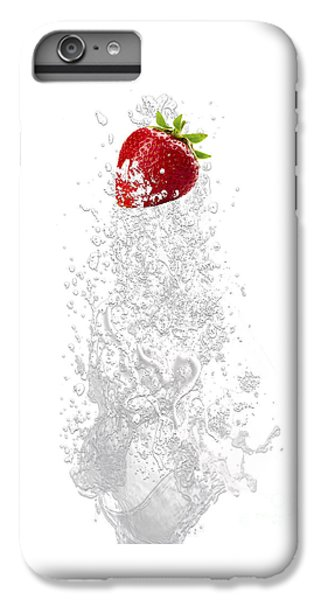Strawberry Splash IPhone 6s Plus Case by Marvin Blaine