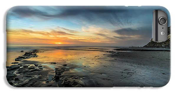 Ocean Sunset iPhone 6s Plus Case - Sunset At Swamis Beach by Larry Marshall