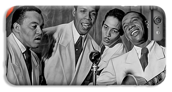 The Ink Spots Collection IPhone 6s Plus Case by Marvin Blaine
