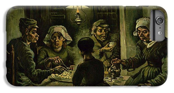 The Potato Eaters, 1885 IPhone 6s Plus Case by Vincent Van Gogh