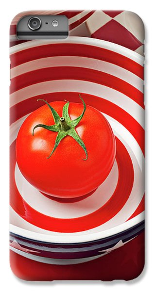 Tomato In Red And White Bowl IPhone 6s Plus Case
