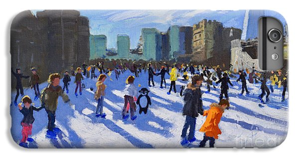 Tower Of London iPhone 6s Plus Case - Tower Of London Ice Rink by Andrew Macara