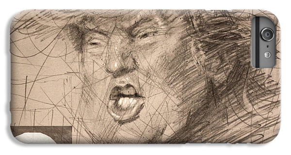 Hillary Clinton iPhone 6s Plus Case - Trump by Ylli Haruni