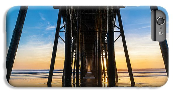 Ocean Sunset iPhone 6s Plus Case - Under The Oceanside Pier by Larry Marshall