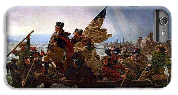 George Washington iPhone 6s Plus Case - Washington Crossing The Delaware by Emanuel Leutze