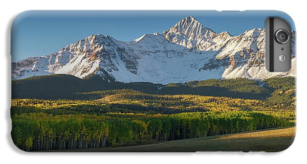 IPhone 6s Plus Case featuring the photograph Wilson Peak Panorama by Aaron Spong