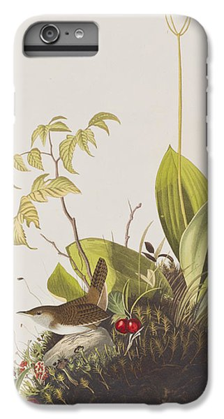 Wood Wren IPhone 6s Plus Case by John James Audubon