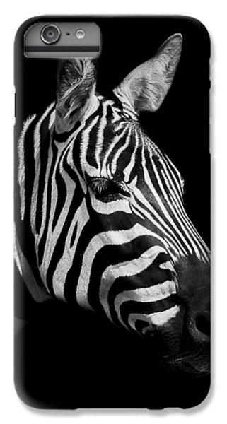 Zebra IPhone 6s Plus Case by Paul Neville