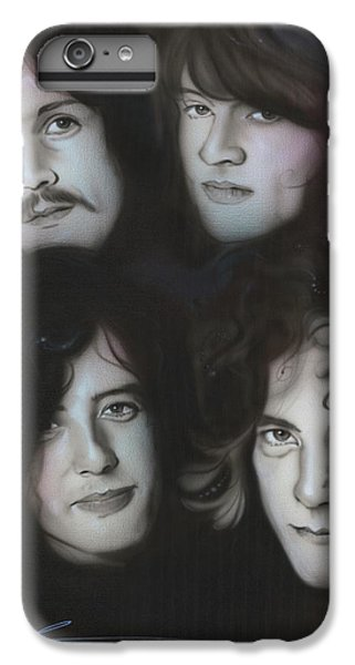 Jimmy Page iPhone 6s Plus Case - Zeppelin by Christian Chapman Art