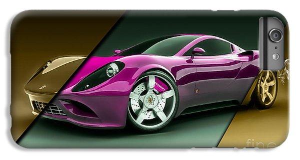 Ferrari Collection IPhone 6s Plus Case by Marvin Blaine