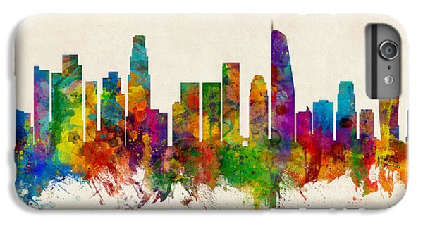 Los Angeles California Skyline IPhone 6s Plus Case by Michael Tompsett