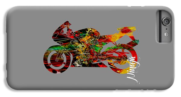 Ninja Motorcycle IPhone 6s Plus Case by Marvin Blaine