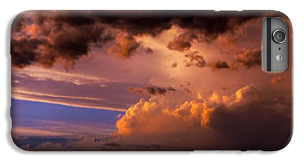 Nebraskasc iPhone 6s Plus Case - Nebraska Hp Supercell Sunset by NebraskaSC