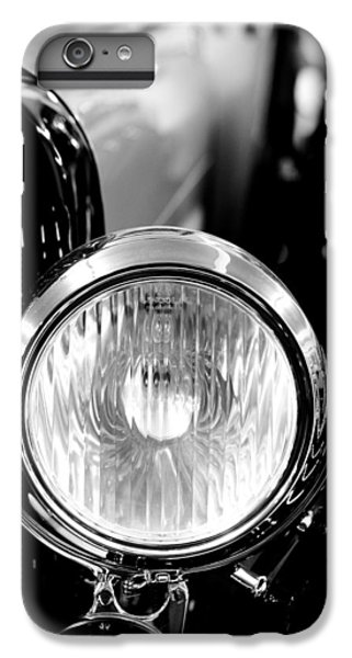 1925 Lincoln Town Car Headlight IPhone 6s Plus Case by Sebastian Musial