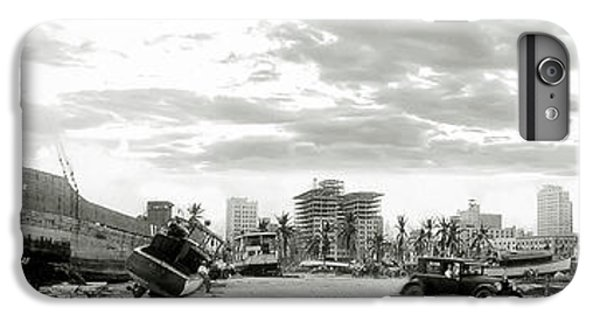 1926 Miami Hurricane  IPhone 6s Plus Case by Jon Neidert