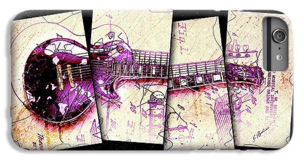 Van Halen iPhone 6s Plus Case - 1955 Les Paul Custom Black Beauty V3 by Gary Bodnar