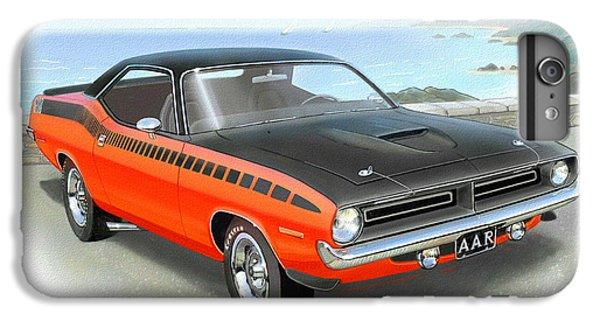 Roadrunner iPhone 6s Plus Case - 1970 Barracuda Aar  Cuda Classic Muscle Car by John Samsen