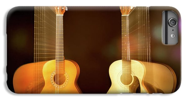 Acoustic Overtone IPhone 6s Plus Case by Leland D Howard