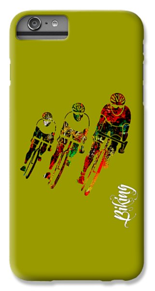 Bike Racing IPhone 6s Plus Case by Marvin Blaine