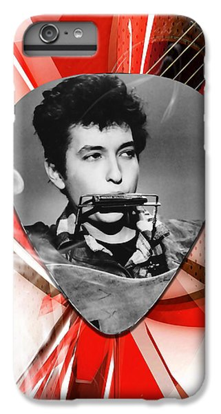 Bob Dylan Art IPhone 6s Plus Case by Marvin Blaine