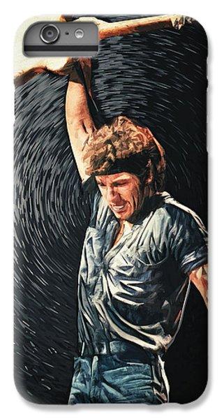 Folk Art iPhone 6s Plus Case - Bruce Springsteen by Zapista