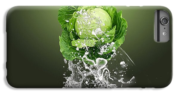 Cabbage Splash IPhone 6s Plus Case by Marvin Blaine