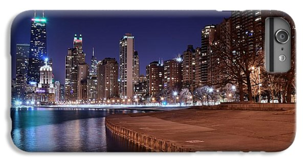 Soldier Field iPhone 6s Plus Case - Chicago From The North by Frozen in Time Fine Art Photography