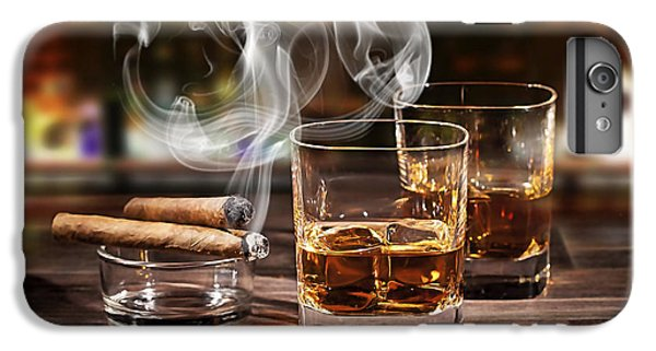 Cigar And Alcohol Collection IPhone 6s Plus Case