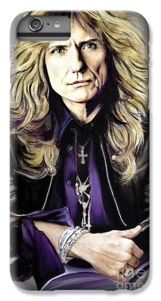 Jimmy Page iPhone 6s Plus Case - David Coverdale 1 by Melanie D