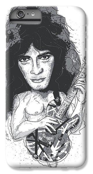 Van Halen iPhone 6s Plus Case - Eddie Van Halen by Gary Bodnar