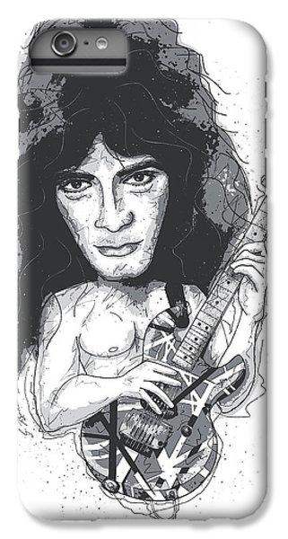 Eddie Van Halen IPhone 6s Plus Case by Gary Bodnar