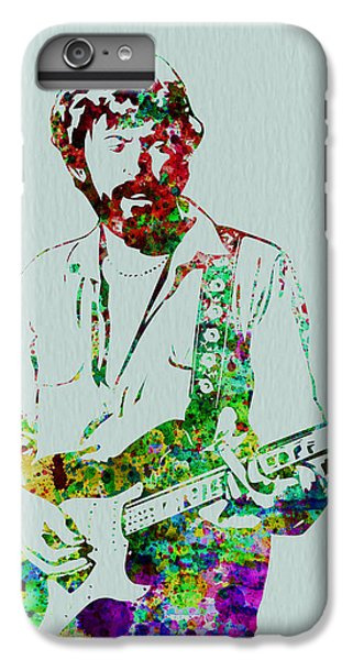Musicians iPhone 6s Plus Case - Eric Clapton by Naxart Studio