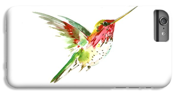 Flying Hummingbird IPhone 6s Plus Case by Suren Nersisyan