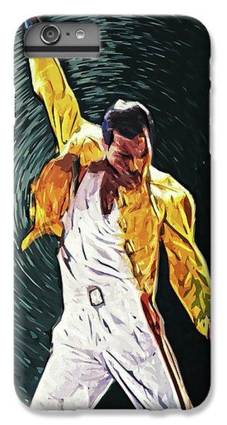 Freddie Mercury IPhone 6s Plus Case by Taylan Apukovska