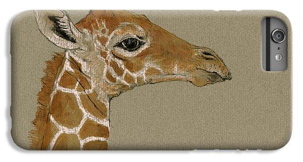 Giraffe Head Study  IPhone 6s Plus Case