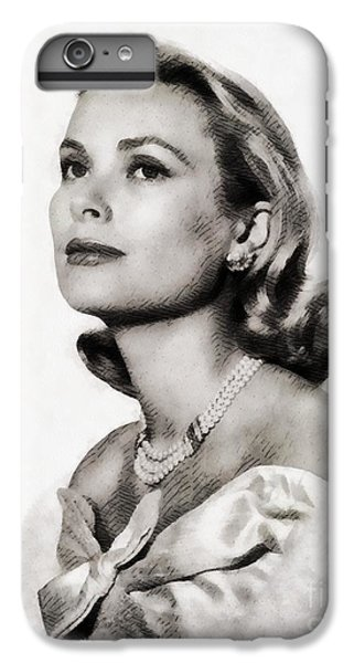 Grace Kelly iPhone 6s Plus Case - Grace Kelly, Vintage Hollywood Actress by John Springfield