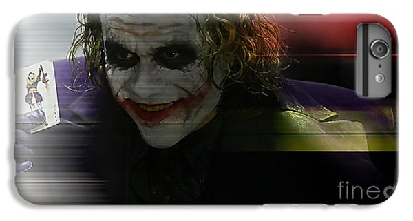 Heath Ledger IPhone 6s Plus Case by Marvin Blaine