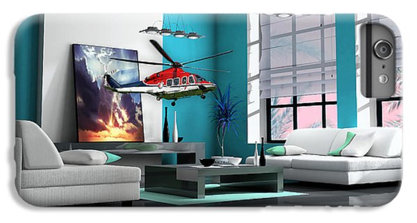 Helicopter Art IPhone 6s Plus Case