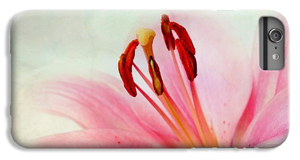 Lily iPhone 6s Plus Case - Pink Lily by Nailia Schwarz